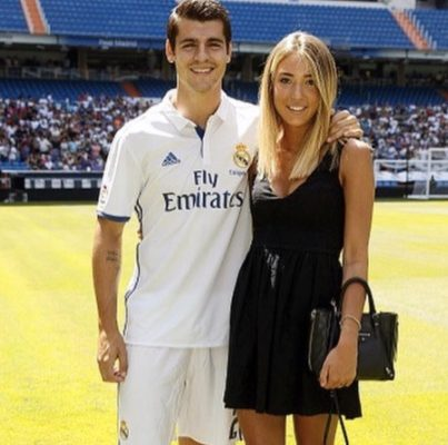 Alvaro Morata's Wife Alice Campello