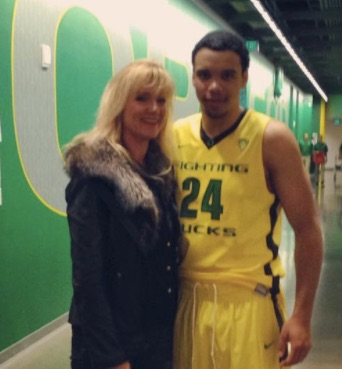 Dillon Brooks' Mother Diane Brooks