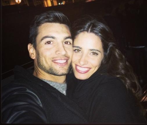Javier Pastore's Girlfriend Chiara Picone