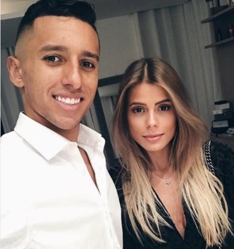 Carol Cabrino PSG Marquinhos' Wife