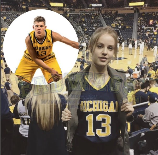 Who is Michigan Moritz Wagner's Girlfriend?