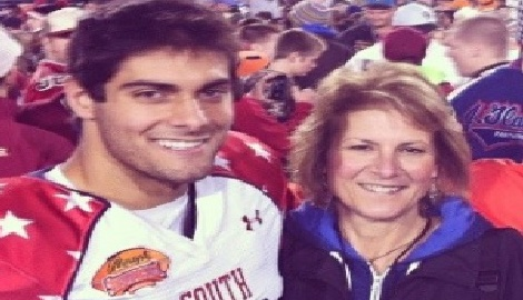 Denise Garoppolo NFL Jimmy Garoppolo's Mother