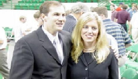 Kelly Drew Baylor Scott Drew's wife