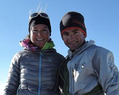 Nicole Steck Climber Ueli Steck's Wife