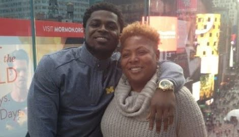 Ivory Peppers Jabrill Peppers' Mother