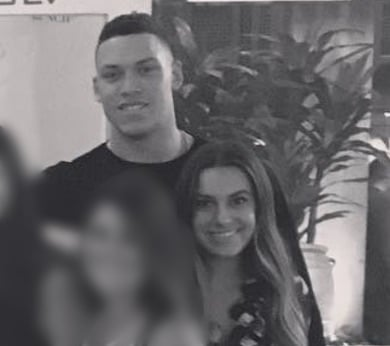 Aaron Judge's girlfriend Sterling Olmstead