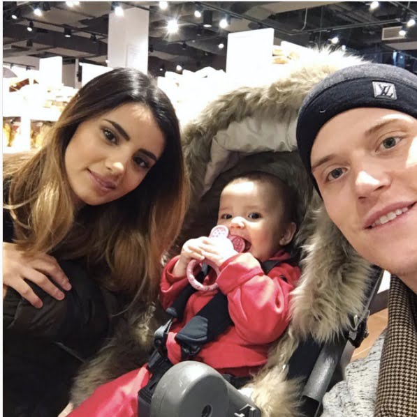 Image result for Jonas Jerebko and his wife