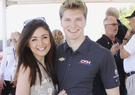 Ashley Welch Indy Josef Newgarden's Girlfriend