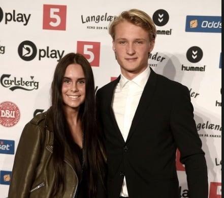 Cecilie Hornbaek Kasper Dolberg's Girlfriend