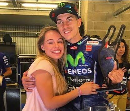 Cristina Llovera Moto GP Maverick Vinales' New Girlfriend
