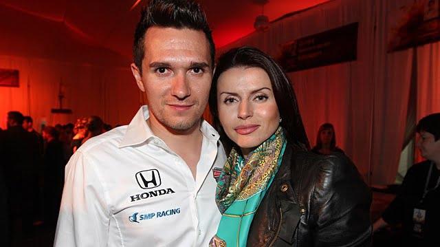 Mikhail Aleshin's ex-Wife Elena Tolstaya