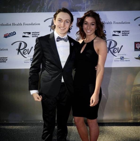 2015 Honda Rebel >> Zach Veach's Girlfriend Kate McConnell (Bio, Wiki)