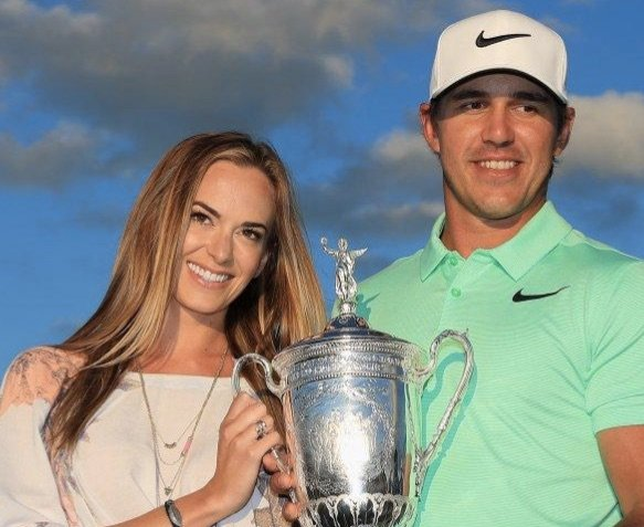 Brooks Koepka's New Girlfriend Jena Sims