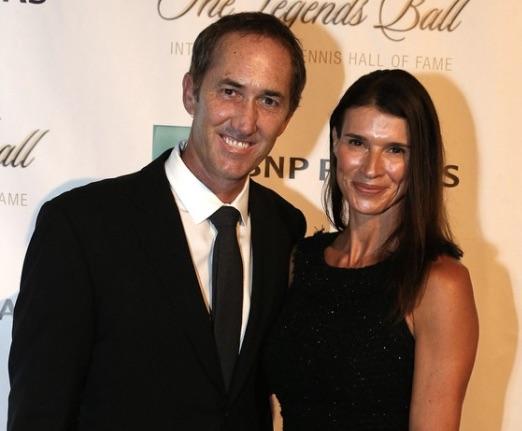 Darren Cahill's Wife Victoria Cahill