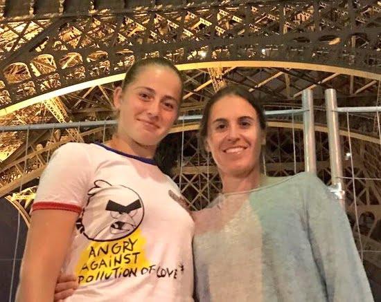 Jelena Ostapenko's fab Coach Anabel Medina Garrigues