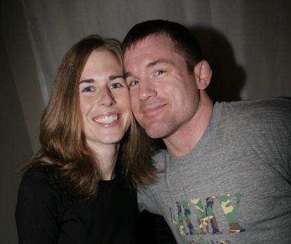 Matt Hughes' Wife Audra Moore-Hughes
