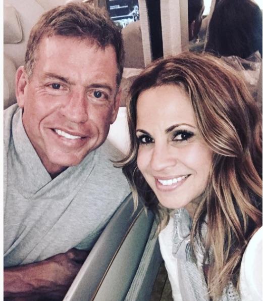 Troy Aikman's girlfriend Capa Mooty