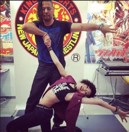 Harumi Maekawa WWE Shinsuke Nakamura's Wife