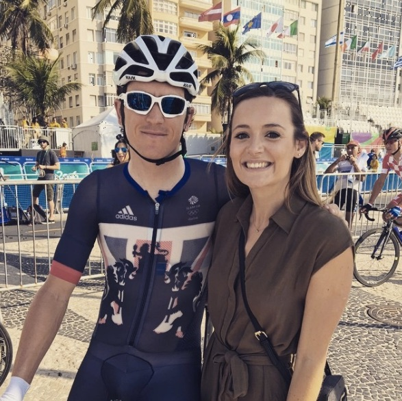 Geraint Thomas wife Sara Elen Thomas