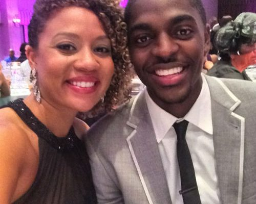 Justin Holiday wife Shekinah Holiday