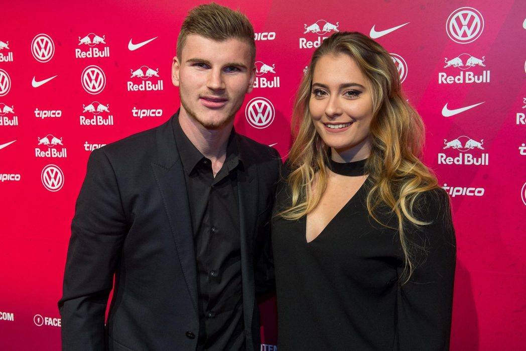 Timo Werner's Girlfriend Julia Nagler