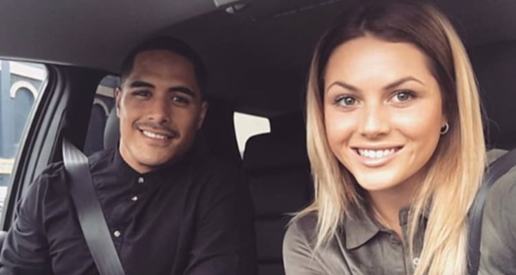 All Blacks Aaron Smith's Girlfriend Teagan Voykovich