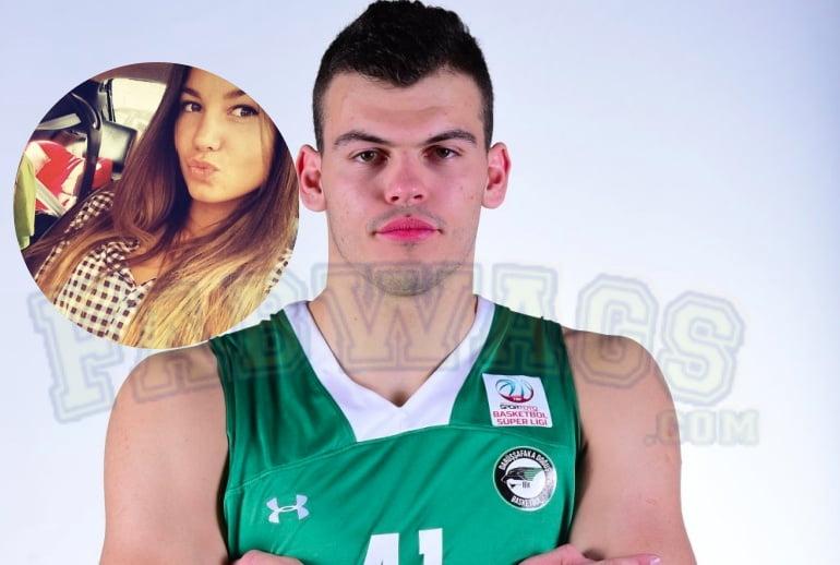 Ante Zizic's Girlfriend Paula Vuko
