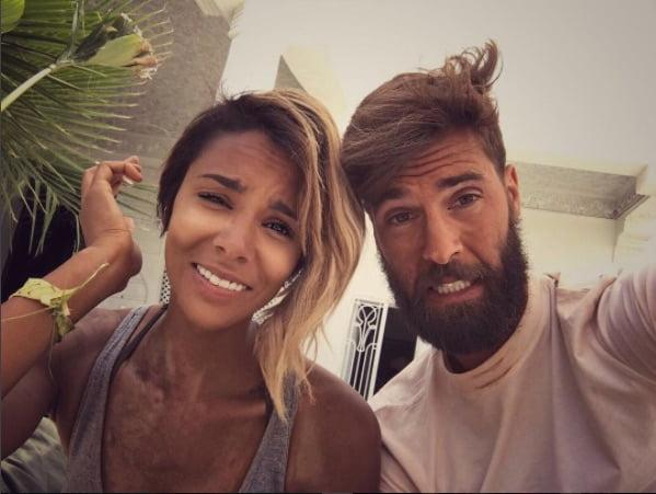Benoit Paire's girlfriend Shy'm