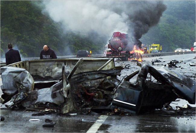 Pittsburgh Steelers Justin Car Crash