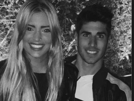 Marco Asensio's Girlfriend Marina Muntaner