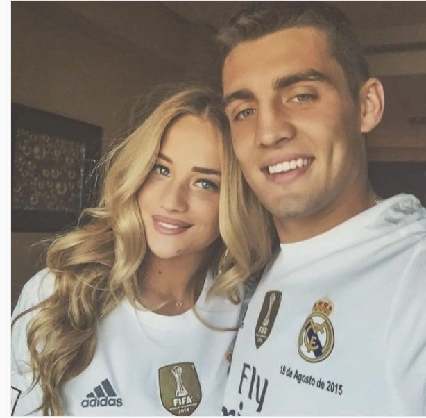 Mateo Kovacic's Wife Izabel Andrijanic