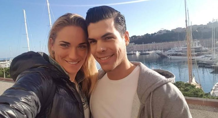 Timea Babos' Boyfriend Peter Koczka