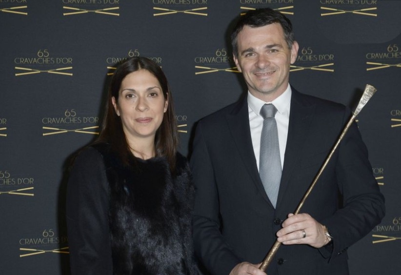 Willy Sagnol's Wife Charlotte-Gwendoline Sagnol