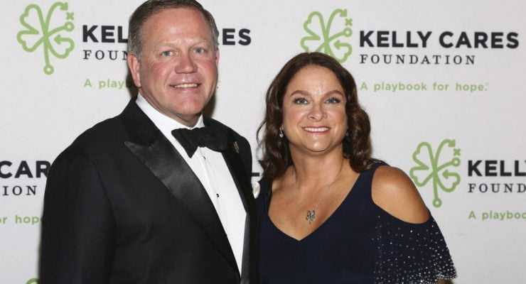 Notre Dame Brian Kelly's Wife Paqui Kelly