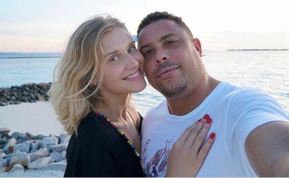 Ronaldo's Girlfriend Celina Locks