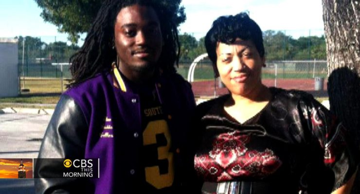 Alex Collins' Mother Andrea McDonald