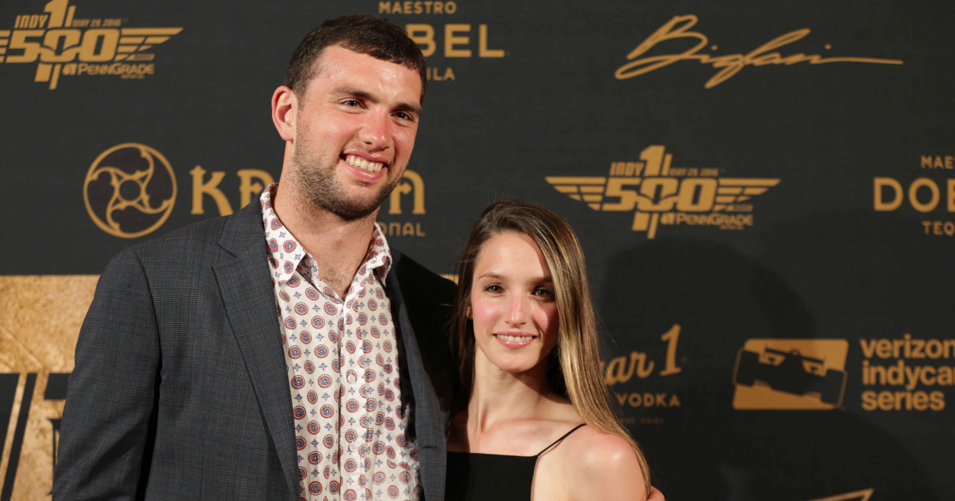 Meet  Andrew Luck's Girlfriend Nicole Pechanec