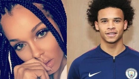 Leroy Sane's Girlfriend Candice Brook