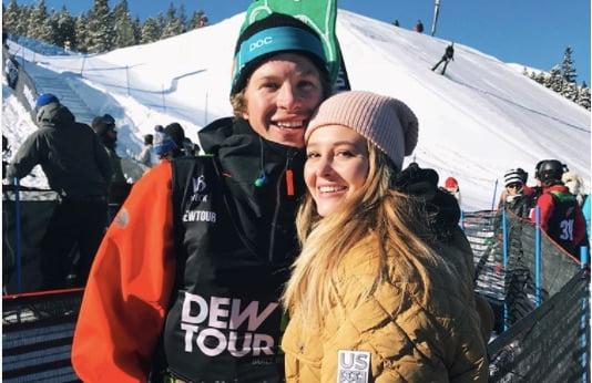 Morgan McNallie freestyle skier Aaron Blunck's Girlfriend