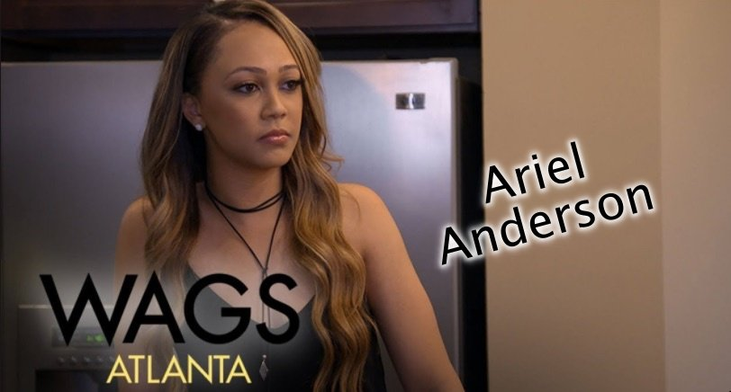 Ariel Anderson NFL Cheerleader in Wags Atlanta!