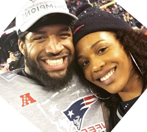 Chanell J. Clark-Bibbs NFL Deatrich Wise's Girlfriend