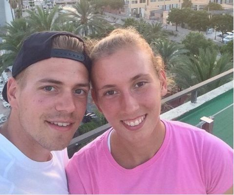 Robbe Ceyssens Elise Mertens' Boyfriend/ Coach