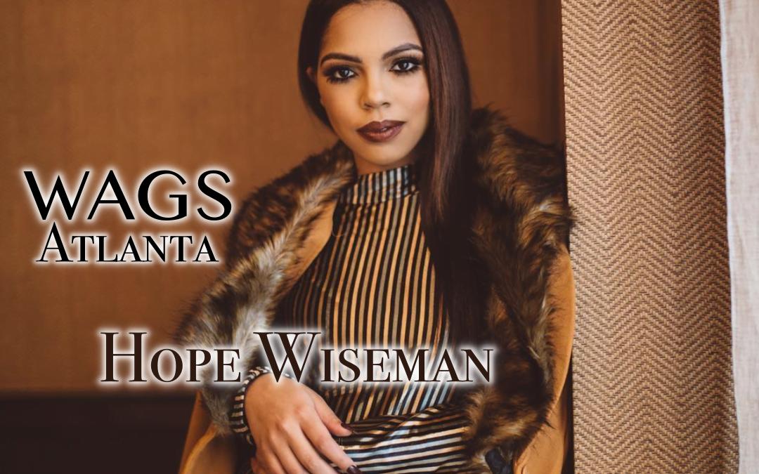 Hope Wiseman Single Hottie in Wags Atlanta
