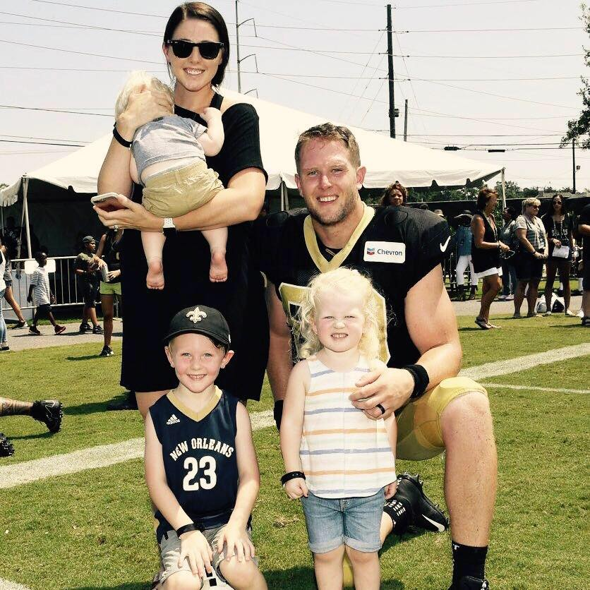 Saints Tight End Josh Hill's Wife Courtney Hill (Bio, Wiki)Taysom Hill Kids