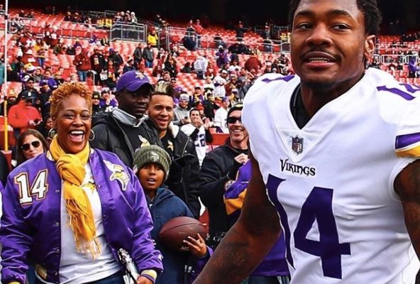 Stefon Diggs' Mother Stephanie Diggs