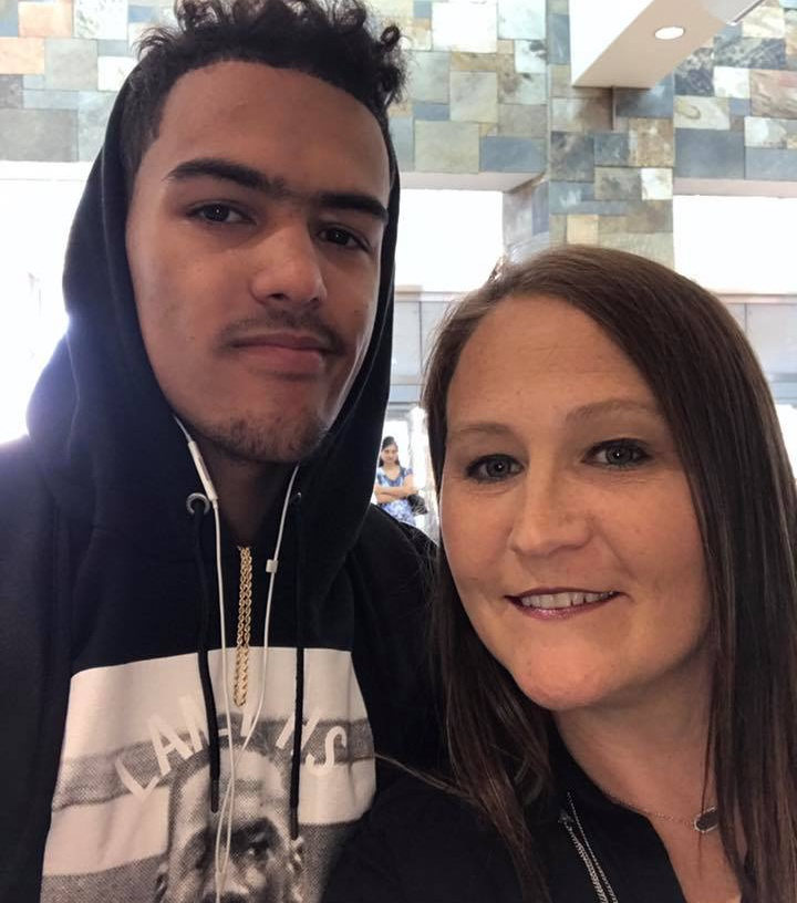 Candice Young Sooners Star Trae Young's Mother
