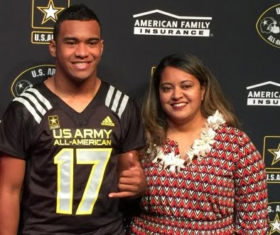 Diane Tagovailoa Alabama Tua Tagovailoa's Mother