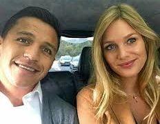 Alexis Sanchez' New girlfriend Mayte Rodriguez