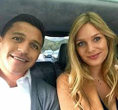 Alexis Sanchez' New girlfriend Mayte Rodriguez