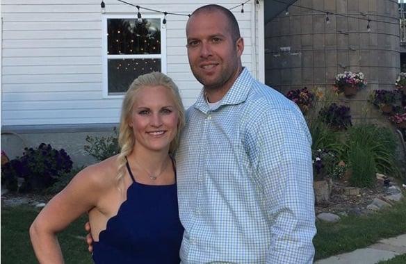 Jocelyne Lamoureux-Davidson husband Brent Davidson